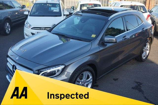 USED 2014 14 MERCEDES-BENZ GLA-CLASS 2.1 GLA200 CDI SE PREMIUM PLUS with PANORAMIC ROOF