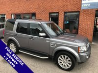 "USED 2013 13 LAND ROVER DISCOVERY 3.0 4 SDV6 XS 5DOOR 255 BHP Family 7-Seater   :   DAB   :   Satellite Navigation   :   USB Socket   :   Cruise Control      Phone Bluetooth Connectivity   :   Climate Control / Air Conditioning   :   Heated Front Seats      Full Black Leather Upholstery   :   Rear View Camera   :   Front & Rear Parking Sensors      19"" Alloy Wheels   :   2 Keys   :   Full Service History"