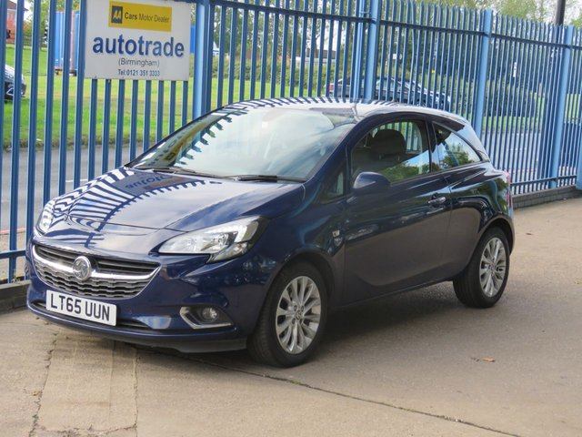 USED 2015 65 VAUXHALL CORSA 1.2 SE CDTI ECOFLEX S/S 3dr 1/2 Leather Cruise Heated seats & steering wheel DAB Finance arranged Part exchange available Open 7 days