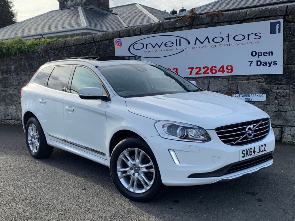 USED 2014 64 VOLVO XC60 2.4 D4 SE LUX NAV AWD 5d AUTO 178 BHP ELECTRIC SLIDING PANORAMIC ROOF+SATELLITE NAVIGATION+CRUISE CONTROL+FOUR WHEEL DRIVE