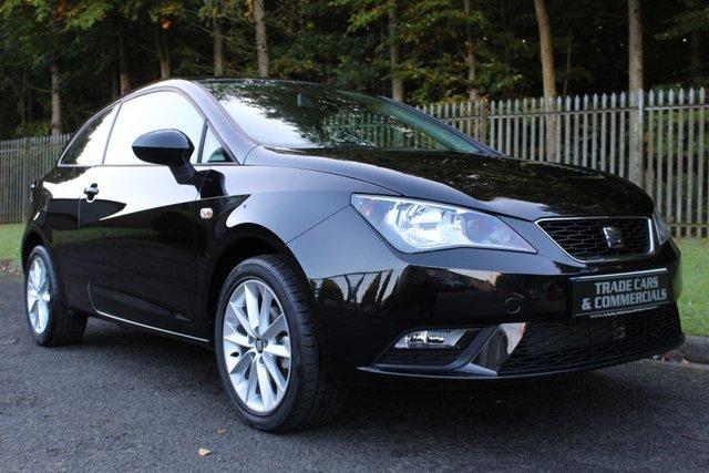 2015 15 SEAT IBIZA 1.4 TOCA 3d 85 BHP