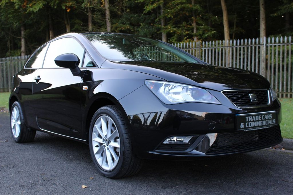 USED 2015 15 SEAT IBIZA 1.4 TOCA 3d 85 BHP A LOW MILEAGE, ONE OWNER EXAMPLE WITH FULL SEAT SERVICE HISTORY!!!