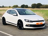 USED 2013 63 VOLKSWAGEN SCIROCCO 2.0 TDI BLUEMOTION TECHNOLOGY DSG 2d AUTO 140 BHP