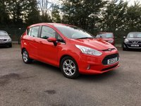 USED 2013 13 FORD B-MAX 1.6 ZETEC 5d AUTOMATIC WITH SERVICE HISTORY  LOW RATE NO DEPOSIT FINANCE, APPLY HERE NOW
