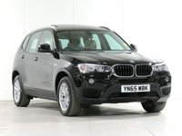USED 2015 65 BMW X3 2.0 XDRIVE20D SE 5d 188 BHP [£1,765 OPTIONS] PANROOF CAMERA PARK-ASSIST