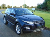 "USED 2014 14 LAND ROVER RANGE ROVER EVOQUE 2.2 SD4 PURE TECH 5d AUTO 190 BHP MEMORY SEATS, SAT-NAV, 19""ALLOYS"