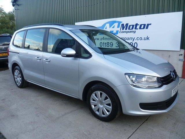2012 12 VOLKSWAGEN SHARAN 2.0 TDI BlueMotion Tech S 5dr