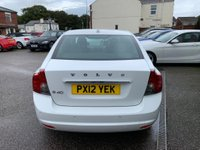 USED 2012 12 VOLVO S40 1.6 TD DRIVe SE Lux 4dr FULL SERVICE HISTORY