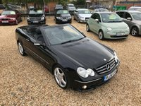 USED 2008 08 MERCEDES-BENZ CLK 1.8 CLK200 Kompressor Sport Cabriolet 2dr Leather & 7 Service Stamps