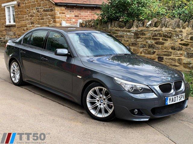 2007 07 BMW 5 SERIES 2.0 520D M SPORT 4d AUTO 161 BHP