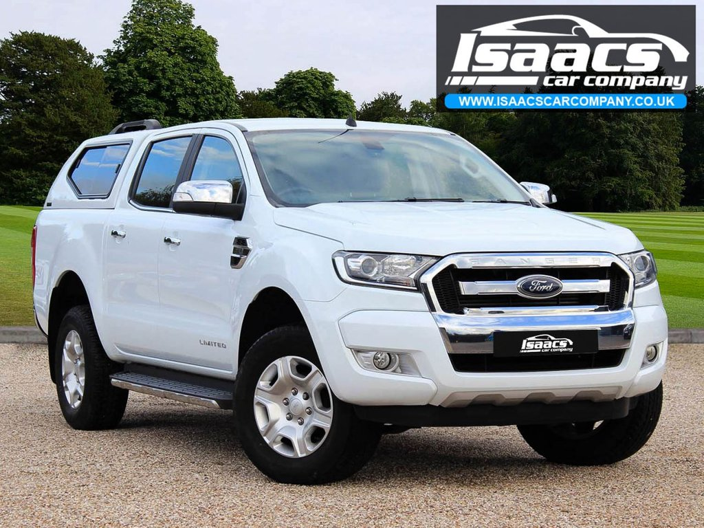USED 2016 65 FORD RANGER 2.2 LIMITED 4X4 DCB TDCI 4d 158 BHP