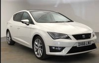 USED 2016 66 SEAT LEON 1.4L ECOTSI FR TECHNOLOGY 5d 150 BHP