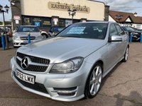 USED 2012 62 MERCEDES-BENZ C CLASS 2.1 C250 CDI BLUEEFFICIENCY SPORT 4d AUTO 202 BHP
