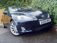 2006 LEXUS IS 2.5 250 SE 4d AUTO 204 BHP £3999.00