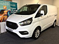 USED 2018 18 FORD TRANSIT CUSTOM 2.0 300 LIMITED P/V L1 H1 129 BHP LONG FORD WARRANTY, DRIVE AWAY TODAY,
