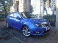 USED 2013 SEAT IBIZA 1.2 TSI FR 5d 104 BHP *FINANCE ARRANGED*PART EXCHANGE WELCOME*£30 TAX*CRUISE*AIRCON*AUX*CD*VOICE*SERVICE HISTORY*AM/FM RADIO