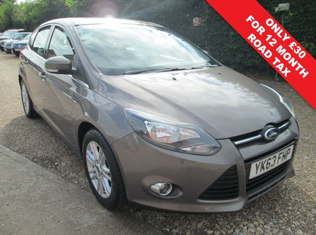 USED 2013 63 FORD FOCUS 1.0 TITANIUM 5d 124 BHP 67.3 MPG EXTRA - USB PORT & VOICE CONTROL