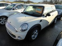 2010 MINI HATCH ONE 1.6 ONE 3d 98 BHP £3495.00