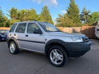 2002 LAND ROVER FREELANDER 2.5 V6I ES STATION WAGON 5d AUTO 175 BHP CLEAN EXAMPLE WITH FULL LEATHER SEATS £1750.00