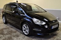 USED 2012 12 FORD S-MAX 2.2 TITANIUM X SPORT TDCI 5d AUTO 197 BHP 2012 Ford S-Max Titanium X Sport 2.2TDCI Automatic - 2 owners from new, Full Ford History! Range Topping 7 Seater!
