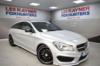 USED 2015 65 MERCEDES-BENZ CLA 2.1 CLA220 CDI AMG SPORT 5d AUTO 174 BHP Sat Nav, Bluetooth, Cruise control, Xenons, Parktronic