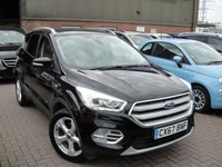 USED 2017 67 FORD KUGA 1.5 TITANIUM TDCI 5d AUTO 119 BHP ANY PART EXCHANGE WELCOME, COUNTRY WIDE DELIVERY ARRANGED, HUGE SPEC