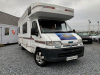 USED 1999 T SWIFT KON-TIKI 640 Vogue Motorhome 2.8 JTD One Previous Owner 6 Berth Well Looked After & Maintained Rear Lounge