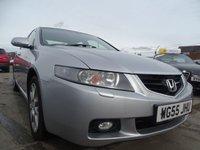 2005 HONDA ACCORD 2.4 EXECUTIVE VTEC 4d AUTOMATIC 190 BHP £2000.00