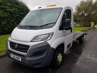USED 2015 15 FIAT DUCATO 2.3 35 C/C TRANSPORTER MULTIJET AUTO 129 BHP Great usable Work Horse - Lightweight Body, 1450KG Capacity, Winch, Air Con & Bluetooth