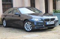 USED 2014 C BMW 5 SERIES 2.0 518D SE 4d 141 BHP FSH + SAT NAV + HEATED SEATS + CRUISE + XENONS + PARKING SENSORS