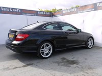 USED 2013 13 MERCEDES-BENZ C CLASS 2.1 C220 CDI BLUEEFFICIENCY AMG SPORT 2d AUTO 170 BHP C220CDI AMG SPORT COUPE AUTO GREAT MPG
