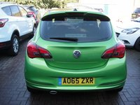 USED 2015 65 VAUXHALL CORSA 1.4 LIMITED EDITION 3d 89 BHP ANY PART EXCHANGE WELCOME, COUNTRY WIDE DELIVERY ARRANGED, HUGE SPEC