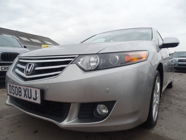 USED 2008 08 HONDA ACCORD 2.2 I-DTEC EX 4d 148 BHP VERY CLEAN CONDITION