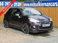 2014 CITROEN DS3 1.6 DSTYLE PLUS 3d 120 BHP £4995.00