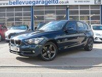 USED 2013 13 BMW 1 SERIES 2.0 116D SPORT 5d 114 BHP