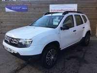 2014 DACIA DUSTER 1.6 ACCESS 5d 1 OWNER  £4999.00