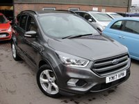 USED 2017 17 FORD KUGA 2.0 ST-LINE TDCI 5d 148 BHP ANY PART EXCHANGE WELCOME, COUNTRY WIDE DELIVERY ARRANGED, HUGE SPEC
