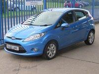 USED 2010 60 FORD FIESTA 1.4 ZETEC TDCI 5d 69 BHP £20 Tax & Great Fuel Economy