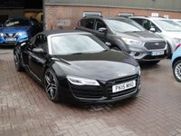 USED 2015 15 AUDI R8 4.2 SPYDER V8 QUATTRO 2d AUTO 424 BHP ANY PART EXCHANGE WELCOME, COUNTRY WIDE DELIVERY ARRANGED, HUGE SPEC