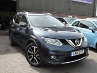 USED 2016 16 NISSAN X-TRAIL 1.6 DCI N-TEC XTRONIC 5d AUTO 130 BHP ANY PART EXCHANGE WELCOME, COUNTRY WIDE DELIVERY ARRANGED, HUGE SPEC