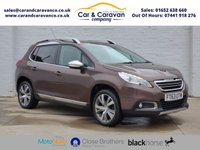 USED 2014 63 PEUGEOT 2008 1.6 E-HDI ALLURE 5d 92 BHP Full Service History DAB A/C Buy Now, Pay Later Finance!