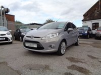 USED 2011 11 FORD FIESTA 1.4 TITANIUM 5d AUTO 96 BHP AUTOMATIC 54,000 FORD DEALERSHIP HISTORY