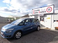 2013 CITROEN C4 GRAND PICASSO 1.6 E-HDI AIRDREAM VTR PLUS 5 DOOR 113 BHP £7195.00