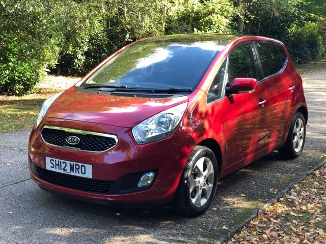 USED 2012 12 KIA VENGA 1.6 3 ECODYNAMICS 5d 123 BHP SUNROOF, AC ETC LOW MILEAGE FINANCE ME TODAY-UK DELIVERY POSSIBLE