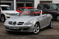 2007 MERCEDES-BENZ SLK SLK200 1.8 KOMPRESSOR 2DR CONVERTIBLE 161 BHP SOLD