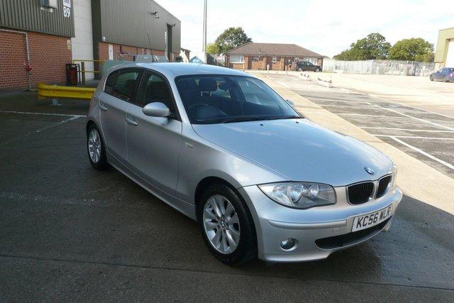 2007 56 BMW 1 SERIES 2.0 118D SPORT 5d 121 BHP