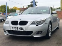 USED 2009 09 BMW 5 SERIES 2.0 520D M SPORT 4d 175 BHP FINANCE ME TODAY
