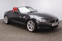 USED 2009 59 BMW Z4 3.0 Z4 SDRIVE30I ROADSTER 2DR HEATED LEATHER SEATS 254 BHP FULL SERVICE HISTORY + HEATED LEATHER SEATS + PARKING SENSOR + CRUISE CONTROL + CLIMATE CONTROL + MULTI FUNCTION WHEEL + XENON HEADLIGHTS + RADIO/CD/AUX/USB + ELECTRIC WINDOWS + ELECTRIC MIRRORS + 18 INCH ALLOY WHEELS