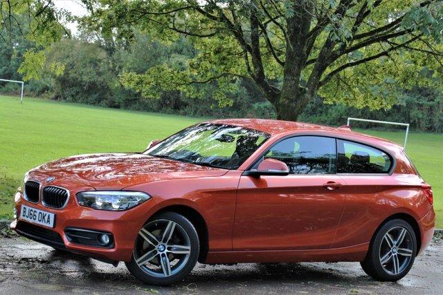 2016 66 BMW 1 SERIES 1.5 116D SPORT 3d 114 BHP