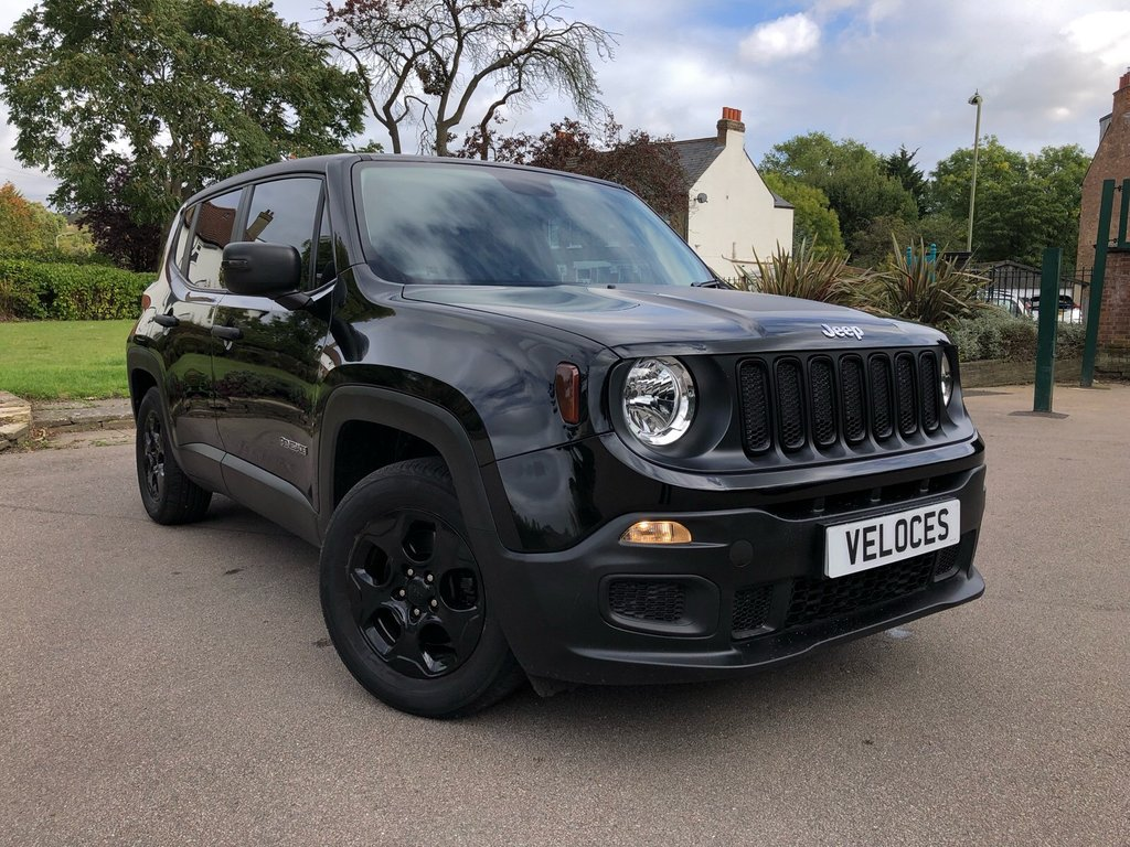 USED 2017 17 JEEP RENEGADE 1.6 SPORT 5d 108 BHP